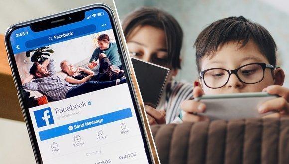 Facebook çocuklar için harekete geçti