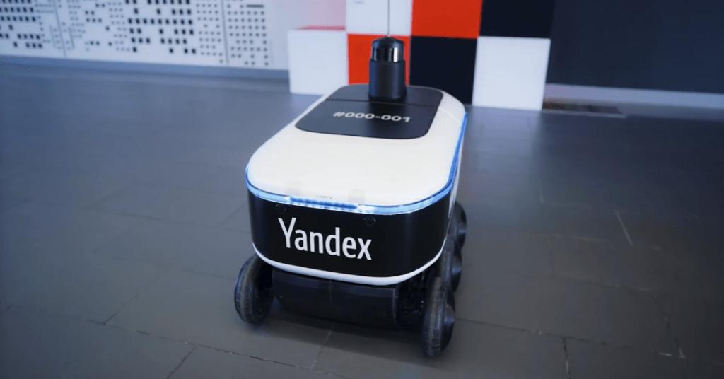 Yandex Teslim Robotları Teste Başladı