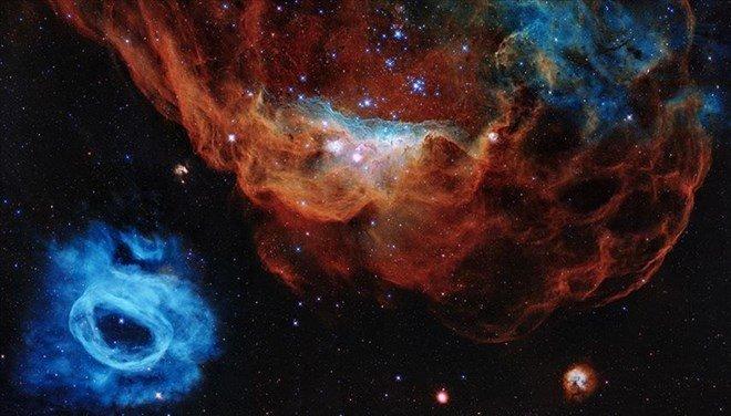 Hubble Uzay Teleskobu'nun 30'uncu Yaşına Özel Yeni Kare