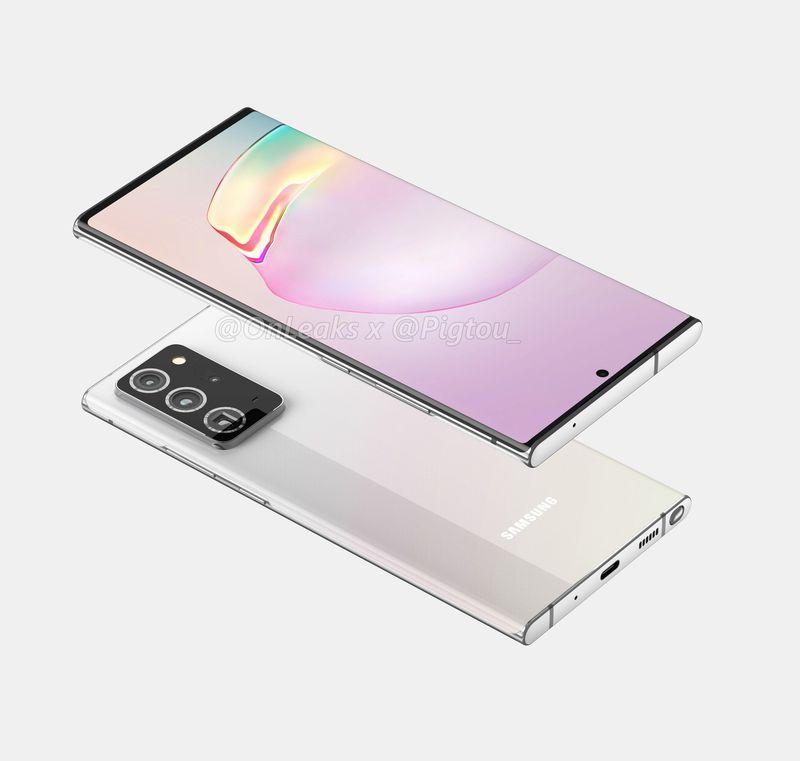 Samsung Galaxy Note 20 Ekran Hakkında Daha Fazla Bilgi Sızmış Olabilir