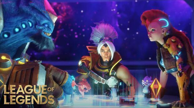 LoL Oyuncuları Odyssey etkinliğinde Riot'un ipucu verdiği için heyecanlı