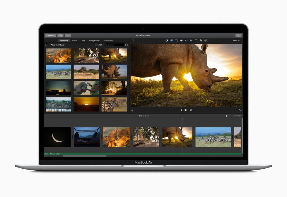 Macbook Air 2020 Ekranı: Windows 10'dan % 32 Daha Parlak!