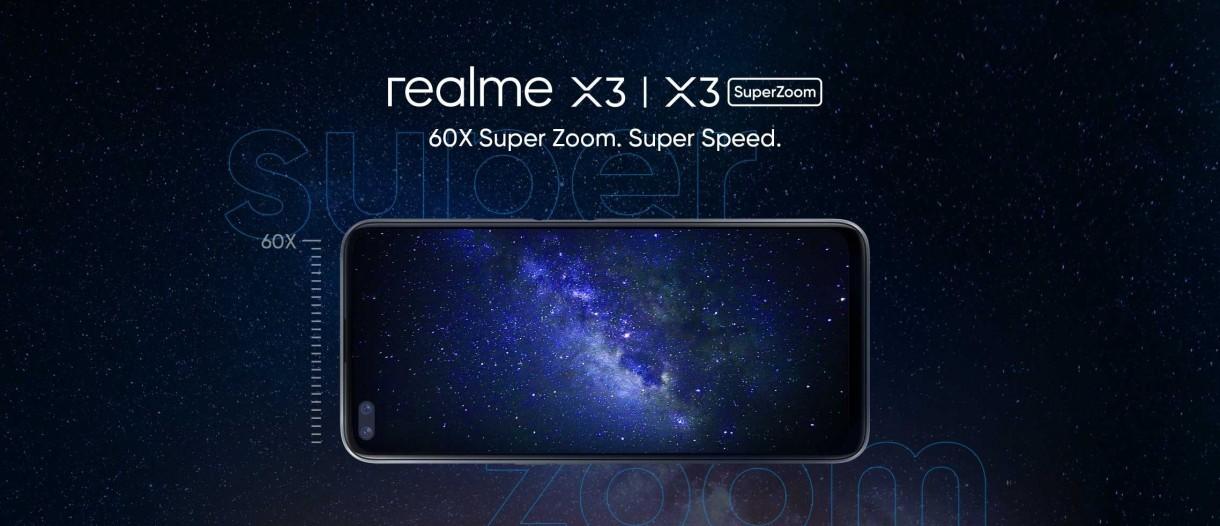 Realme X3 Ve X3 SuperZoom 25 Haziran'da Hindistan'da Satışta!