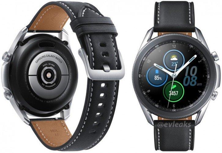 Samsung Galaxy Watch 3'ün En Net Görüntüsü Ortaya Çıktı: İşte Detaylar!