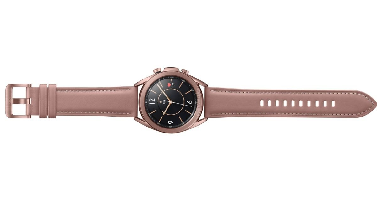 İşte Bronz 41mm Samsung Galaxy Watch 3!