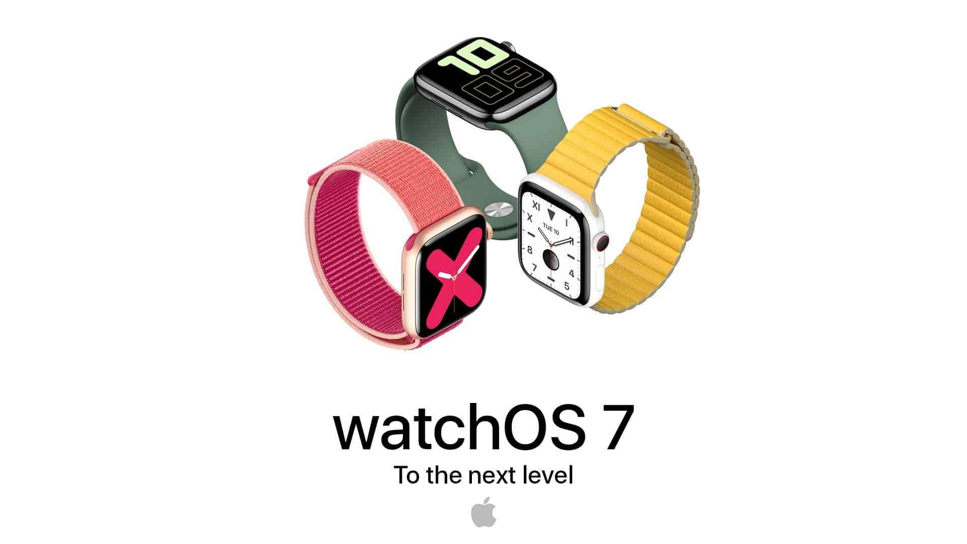 WatchOS 7 Yeni Kişiselleştirme Özellikleri Sunar