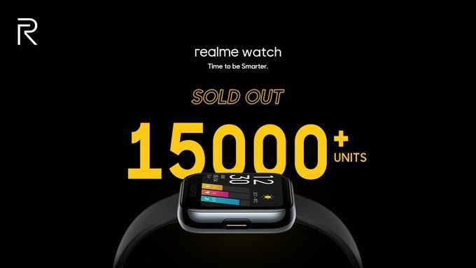 Realme Watch İlk Satışta İki Dakika İçinde 15.000 Adet Sattı!