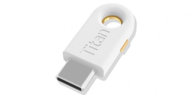 Google, Yubico USB-C Titan Güvenlik Anahtarını iOS Kullanıcıları İçin Çıkardı