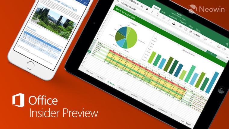 En yeni iOS Office Insider Preview Build, Word, Outlook, OneDrive'a Yeni Özellikler Getiriyor!