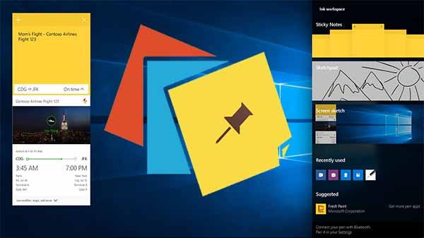 Microsoft, Windows 10 için Yapışkan Notlar Yeni Özellikler!