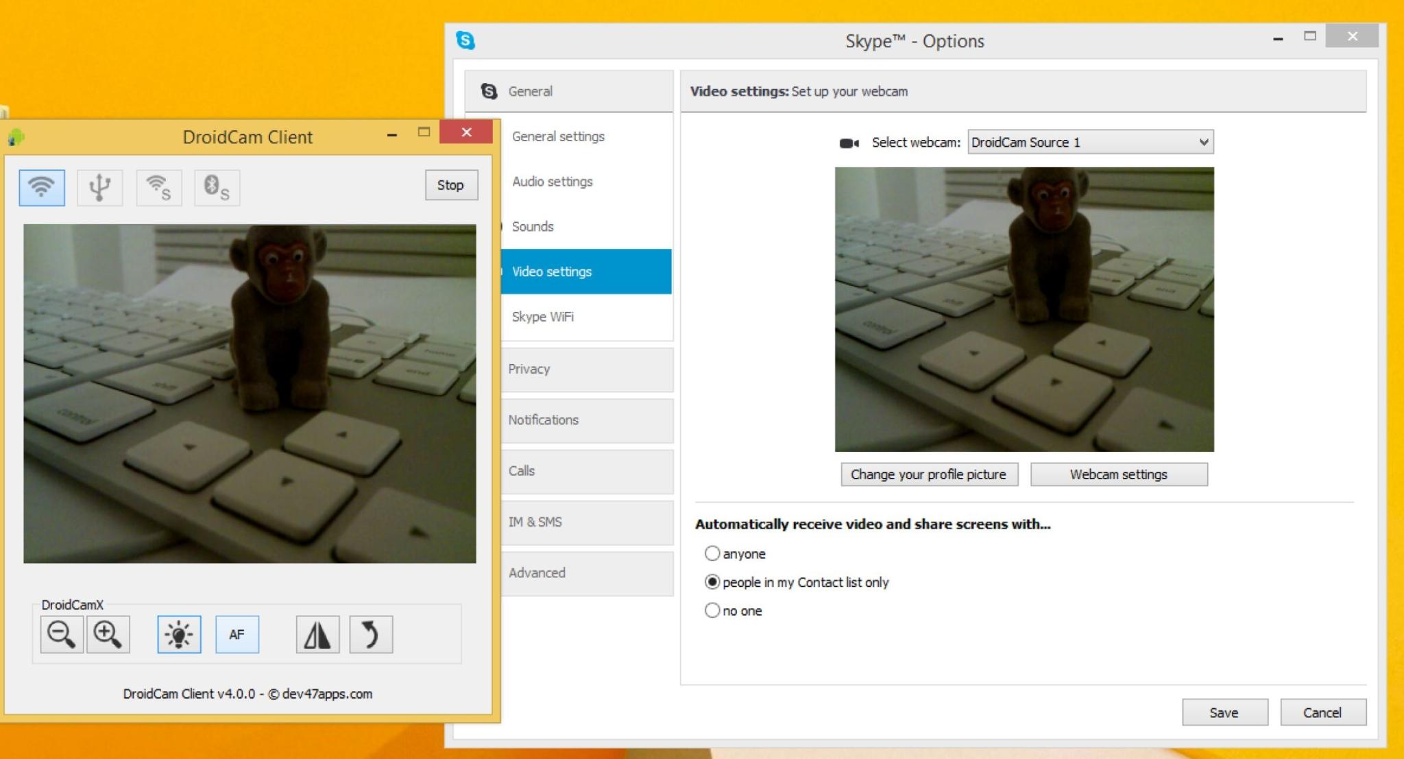 Windows PC için iPhone veya Android Telefonu Web Kamerası Olarak kullanabilirsiniz!