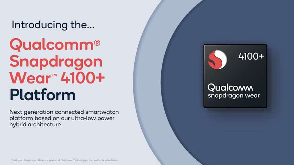 Qualcomm Snapdragon Wear 4100+ ve 4100 resmi hale geldi