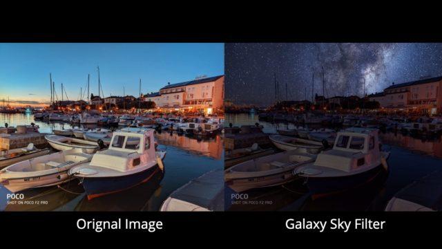 MIUI 12 Galeri Uygulaması AI Gökyüzü Değiştirme Özelliği Nefesinizi Kesecek