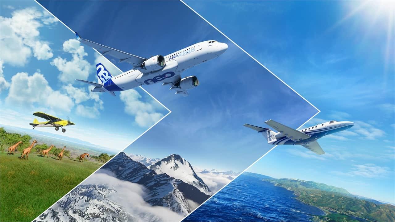 Microsoft Flight Simulator'den Gerçek Gibi Videolar Geliyor!