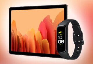 Samsung Galaxy Tab A7, Galaxy Fit 2 Resmi, Kablosuz Şarj Üçlüsü İle Birlikte Geliyor!