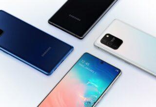 Galaxy S10 Lite Güncelleme Aldı
