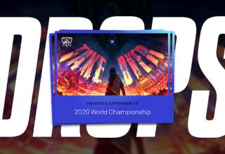 Dünya Şampiyonası 2020 League Of Legends Damlaları