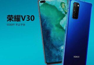 Honor V40 Pro, Şelale Ekranına Yakın Kavisli Ekranla Gelecek!