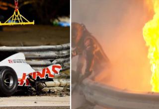 Formula 1'de Bahreyn GP'sinde Büyük Kaza!