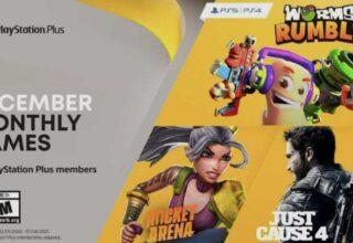 PS PLUS: Aralık 2020 İçin Ücretsiz Oyunlar