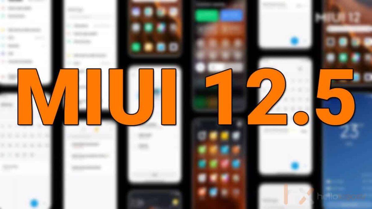 Xiaomi, MIUI 12.5'i Yarın Resmi Olarak Tanıtacak
