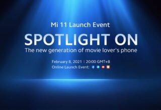 Xiaomi Mi 11, 8 Şubat'ta Duyrulabilir