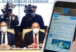 TBMM Dijital Mecralar Komisyonu'ndan Twitter açıklaması!