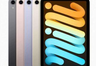 iPad Mini 6 yeni tasarım,daha büyük ekran özellikleriyle duyuruldu